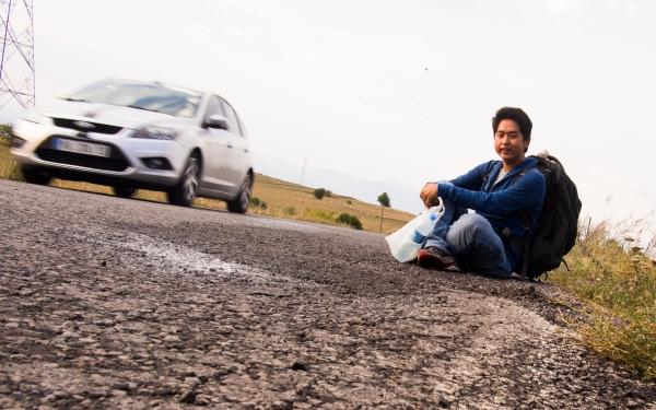 Hitchhiking to Turky-Georgia Land Border