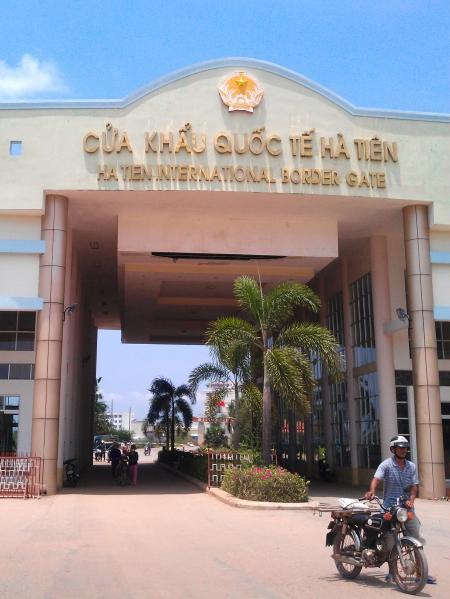 Crossing the Cambodian-Vietnamese Border