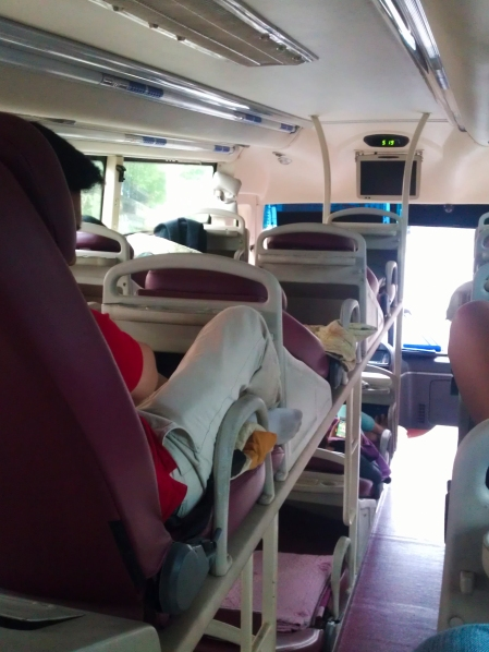 Have You Taken A Bus With Bunk Beds? Yeah, It Was a First for Me