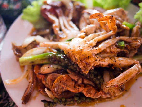 Kep Freshwater Crabs with Kampot Pepper