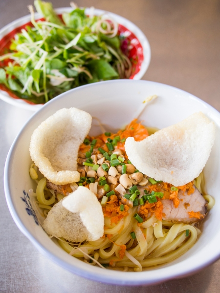 Mi Quang, Noodle Dish With Pork and Shrimp