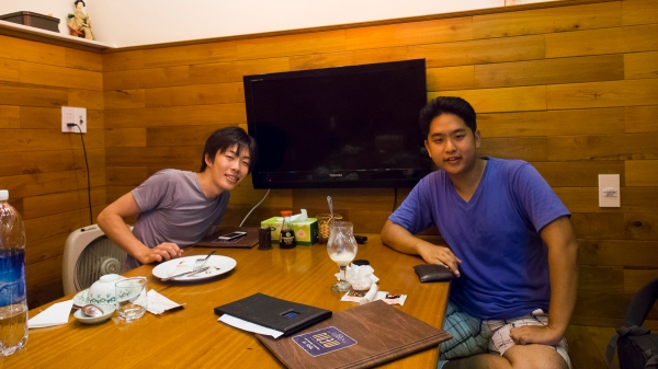 Managed to Meet Up With Masanori-san! This Time at a Japanese Restaurant!