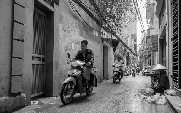 Backstreets of Hanoi