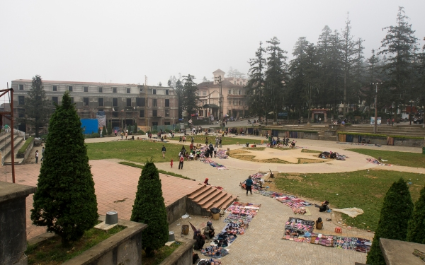 Main Square at Sapa Town