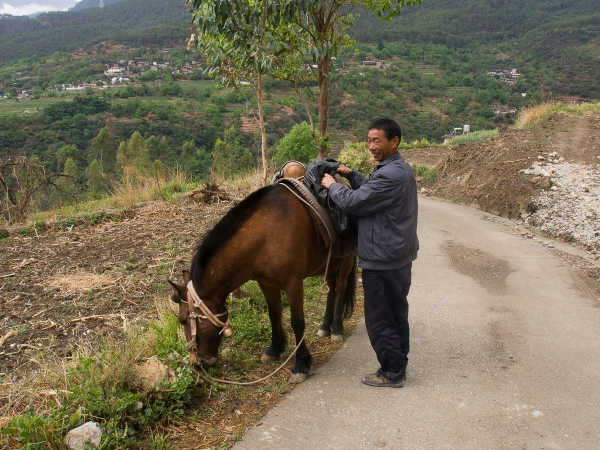 This Man And His Donkey Would Follow You Closely Behind Your Trail, Preying on Weak Hikers